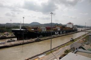 Miraflores Locks,Panama Canal